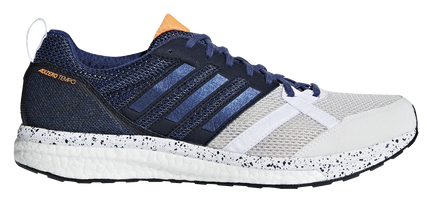 Adidas Men's Adizero Tempo 9 - White/Noble Indigo/Core Black (BB6434)