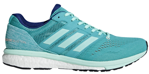 Adidas Women's Adizero Boston 7 - Hi-Res Aqua/Clear Mint/Mystery Ink (BB6498)