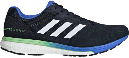Adidas Men's Adizero Boston 7 - Legend Ink/Shock Lime/Hi-Res Blue (BB6536)