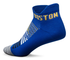 Feetures! Elite Light Cushion No Show Tab - Limited Edition Boston 26.2 - Boston Blue (E50252)