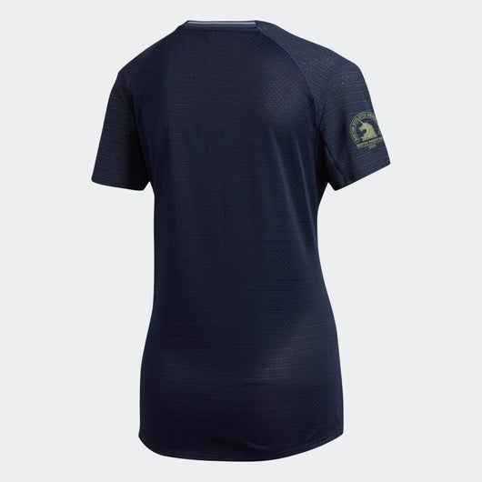Adidas Women's Boston Marathon® 2019 B.A.A. Supernova 37C Tee - Legend Ink (DX8783)