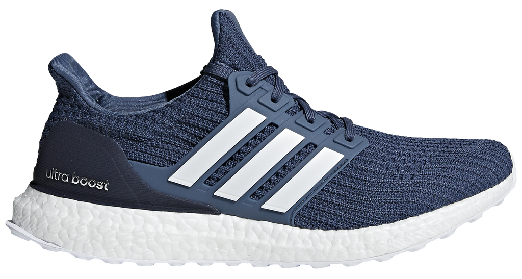 0274e965fbbbfb Adidas Men s Ultra Boost 4.0 - Tech Ink Running White Grey (CM8113) – Marathon  Sports