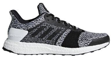 Adidas Men's Ultra Boost ST - White/Core Black/Silver Metallic (CM8273)
