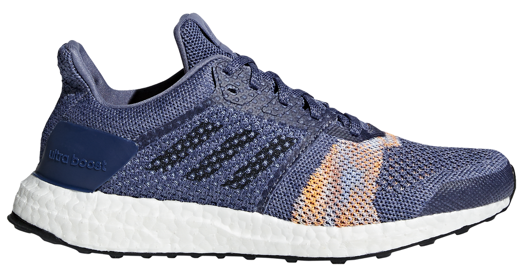 92516253fed4c Adidas Women s Ultra Boost ST - Raw Indigo Noble Ink Hi-Res Orange (CQ –  Marathon Sports