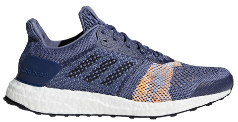 Adidas Women's Ultra Boost ST - Raw Indigo/Noble Ink/Hi-Res Orange (CQ2133)