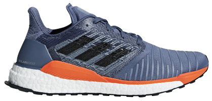 brand new bc1a7 7ba89 Adidas Mens Solar Boost - Tech InkGreyHi-Res Orange (CQ3169