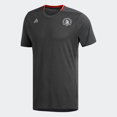 Adidas Men's Boston Marathon® 2018 B.A.A. Supernova Short Sleeve Tee - Black (CW3623)