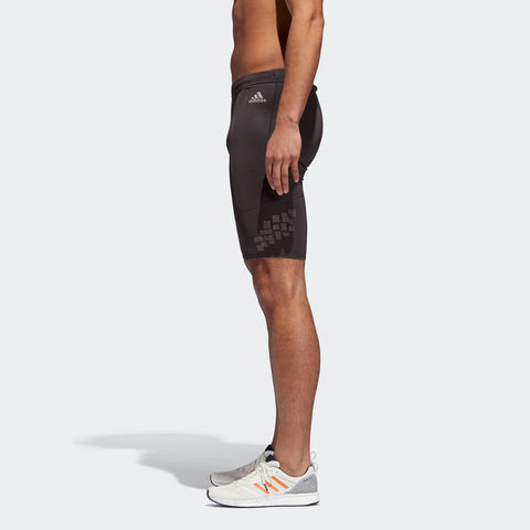 Adidas Men's Boston Marathon® 2018 B.A.A. Supernova Short Tight - Black (CW3801)