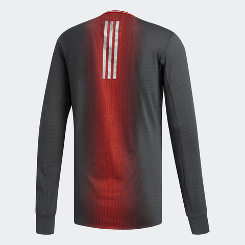 Adidas Men's Boston Marathon® 2018 B.A.A. Supernova Long Sleeve Tee - Black (CW3936)