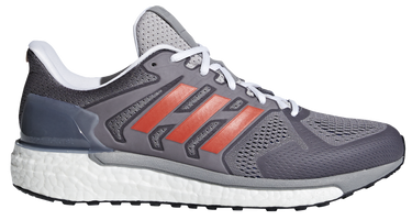 Adidas Men's Supernova Aktiv - Grey One/Hi-Res Red/Collegiate Royal (DA9658)
