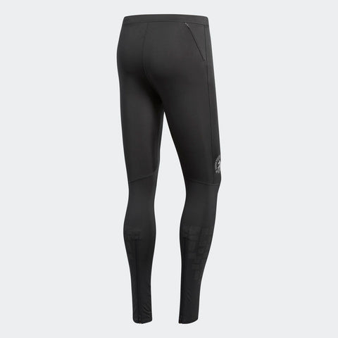 Adidas Men's Boston Marathon® 2018 B.A.A. Supernova Long Tights - Carbon (DJ2097)