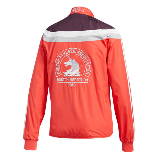 Adidas Women's Boston Marathon® 2018 B.A.A. Celebration Jacket - Real Coral (DJ2105)