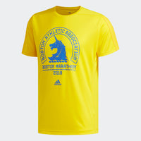 Adidas Men's 2018 Boston Marathon® Logo Tee - Yellow (DP5676)