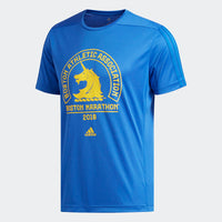 Adidas Men's 2018 Boston Marathon® Logo Tee - Blue (DP5677)