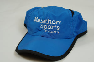 Marathon Sports Logo Running Hat - Royal