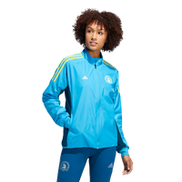 Adidas Women's Boston Marathon® 2019 B.A.A. Celebration Jacket - Shock Cyan (DX1852)