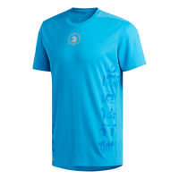 Adidas Men's Boston Marathon® 2019 B.A.A. Supernova Short Sleeve Tee - Shock Cyan (DX8712)