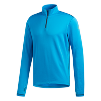 Adidas Men's Boston Marathon® 2019 B.A.A. Response Climawarm 1/2 Zip - Shock Cyan (DX8718)