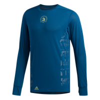 Adidas Men's Boston Marathon® 2019 B.A.A. Supernova Long Sleeve Tee - Legend Marine (DX8757)