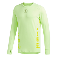Adidas Men's Boston Marathon® 2019 B.A.A. Supernova Long Sleeve Tee - Hi-Res Yellow (DX8760)