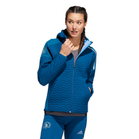 Adidas Women's Boston Marathon® 2019 B.A.A. Zone Jacket - Legend Marine (DX8763)