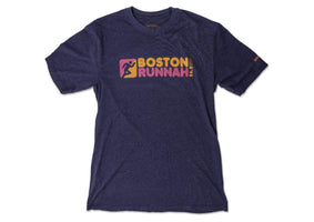 Dunkin Donuts Boston Marathon 2019 T-Shirt Saucony Coffee