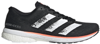 Adidas Women's Adizero Adios 5 - Core Black/Cloud White/Signal Coral (EE4301)