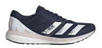 Adidas Women's Adizero Boston 8 - Collegiate Navy/Cloud White/Echo Pink (EH3134) Lateral Side
