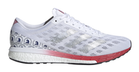 Adidas Women's Boston Marathon® 2020 Adizero Boston 9 - Cloud White/Silver Metallic/Scarlet (FY4641)