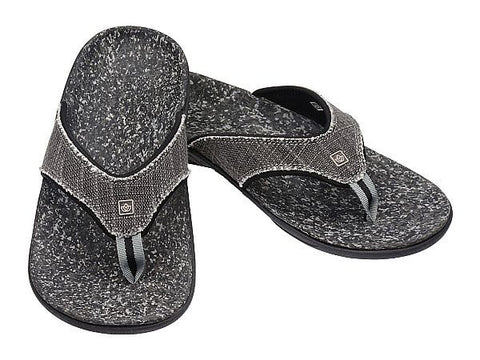 Spenco Men's Yumi Sandal - Black/Canvas (39-535)