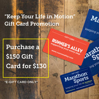 Keep Your Life in Motion Digital Gift Card Promotion - $150 Digital Gift Card for $130
