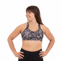Handful Women's Y-Back Sports Bra - Petal To The Metal (115-770)