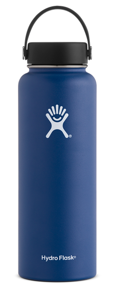 Hydro Flask 40 oz Wide Mouth Bottle w/ Flex Cap - Cobalt (W40TS407)