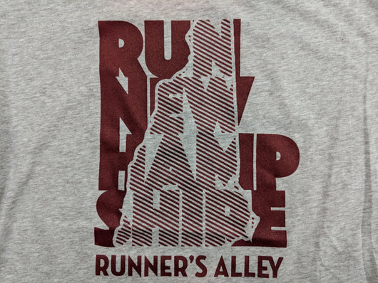 Runner's Alley Women's Run New Hampshire Long Sleeve Tee - Crater Heather (TW599H-274)