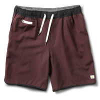 Vuori Men's Banks Short - Oxblood Linen Texture (V330XLT)