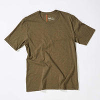 JANJI Men's Runpaca SS Tee - Stingray (MT01A-RAY)