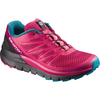 Salomon Women's Sense Pro Max - Virtual Pink/Black/Enamel Blue (L39845200)