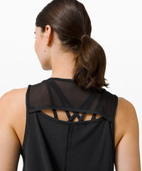 **Available in Select Stores Only** lululemon Women's Sculpt Tank - Black (LW1CFUS_0001)