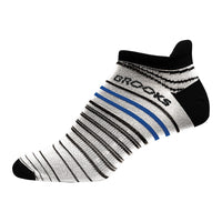 Brooks Launch Lightweight Tab Running Socks - White/Black (742086106)