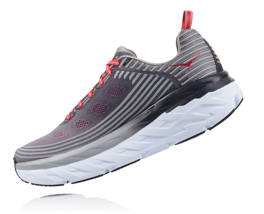 Hoka One One Men's Bondi 6 - Alloy/Steel Gray (1019269-ASGY)