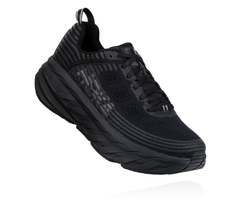 Hoka One One Men's Bondi 6 Wide (2E) - Black/Black (1019271-BBLC)