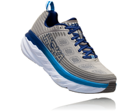 Hoka One One Men's Bondi 6 Wide (2E) - Vapor Blue/Frost Gray (1019271-VBFG)
