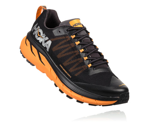 Hoka One One Men's Challenger ATR 4 - Black/Kumquat (1018294-BKMQ)