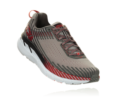 Hoka One One Men's Clifton 5 - Alloy/Steel Gray (1093755-ASGY)