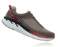Hoka One One Men's Clifton 5 Wide (2E) Alloy/Steel Gray (1093757-ASGY)
