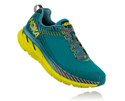 Hoka One One Men's Clifton 5 - Carribean Sea/Storm Blue (1093755-CSSB)