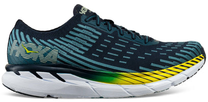 Hoka One One Men's Clifton 5 Knit - Black Iris/Storm Blue (1094309-BISB)
