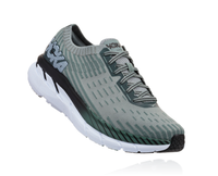 Hoka One One Men's Clifton 5 Knit - Silver Pine/Chinois Green (1094309-SPCGN)