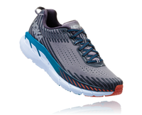 Hoka One One Men's Clifton 5 - Frost Gray/Ebony (1093755-FGEB)
