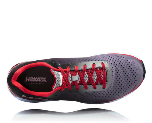 Hoka One One Men's Elevon - Black/Racing Red (1019267-BRNR)